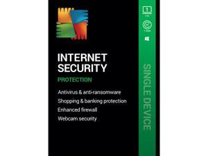 AVG Internet Security 2021, 1 PC 1 Year - Download