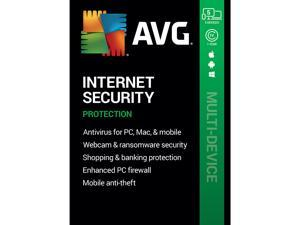 AVG Internet Security 2021, 5 Devices 1 Year - Download