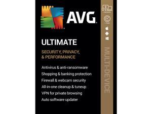 AVG Ultimate [Internet Security+Tuneup+VPN] 2021, 3 Devices 1 Year - Download