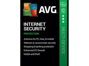 AVG Internet Security 2021, 3 Devices 2 Years - Download