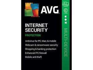 AVG Internet Security 2021, 5 Devices 2 Years - Download