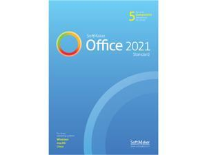 SoftMaker Office Standard 2021 (5 Users) - Windows, Mac and Linux - Download