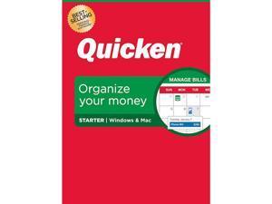 Quicken Starter Personal Finance - 1-Year Subscription (Windows/Mac)