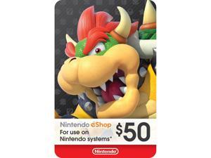 Nintendo eShop $50 Gift Card (Email Delivery)