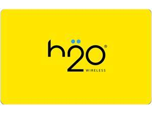 H2O Wireless $100 Prepaid Code - Pay As You Go (Email Delivery)