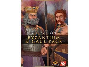 Civilization VI - Byzantium & Gaul Pack  [Online Game Code]