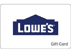 Lowe's $25 Gift Card (Email Delivery)