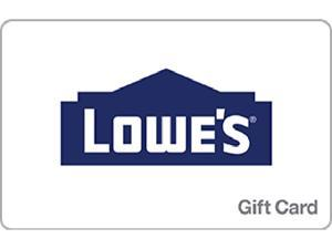 Lowe's $200 Gift Cards (Email Delivery)