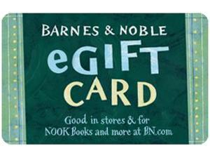 Barnes & Noble $50 Gift Card  (Email Delivery)