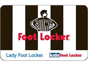 $50 Foot Locker Gift Card + $10 GC