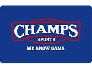 Champs Sports $50 Gift Card (Email Delivery)