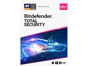 Deals on Bitdefender Total Security 2021 1 Year / 10PCs