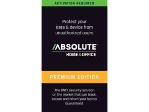 Absolute LoJack Home & Office Premium, 3 Year - Download