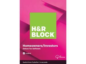 H&R Block 2019 Tax Software Digital On Sale from $14.99 Deals