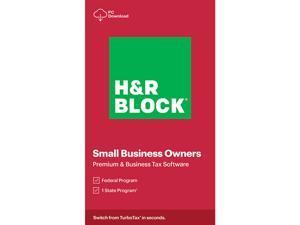 H&R Block Tax Software Premium & Business 2020 Windows - Download