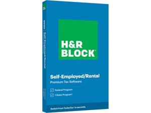 H&R BLOCK Tax Software Premium 2020 PC Windows/Mac (Key Card)