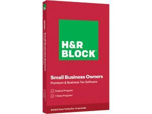 H&R BLOCK Tax Software Premium & Business 2020 PC Windows (Key Card)