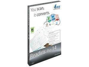 IRIS Readiris Pro 14 OCR for Mac OSX - Download