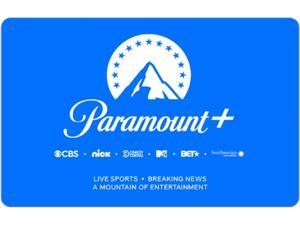 Paramount+ $25 Gift Card (Email Delivery)