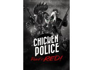 Chicken Police - Paint it RED!  [Online Game Code]