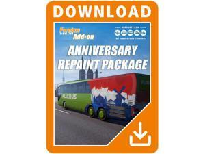 Fernbus Simulator - Anniversary Repaint Package [Online Game Code]