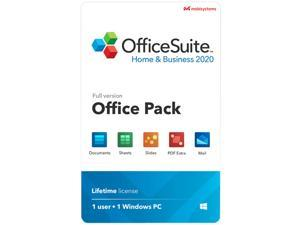 MobiSystems OfficeSuite Home & Business 2020 Works with Microsoft Office & PDF- Lifetime License - Download
