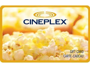 Cineplex $100 Gift Card (Email Delivery)