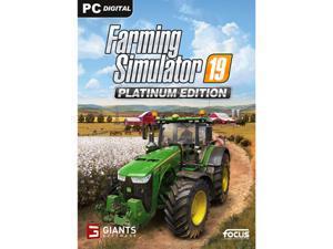 Farming Simulator 19 - Platinum Edition [Online Game Code]