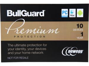 BullGuard Premium Protection - 10 Devices / 1 Year