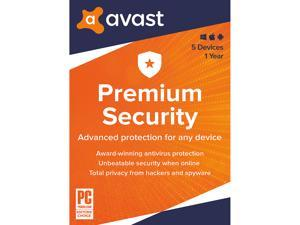 Avast Premium Security 2020, 5 Devices 1 Year - Download