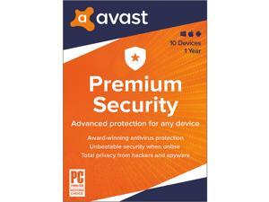 Avast Premium Security 2021, 10 Devices 1 Year - Download