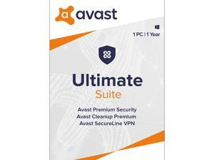 Avast Ultimate Suite [Security, Cleanup and VPN] 2021, 1 PC 1 Year - Download