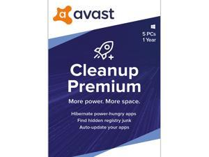 Avast CleanUp Premium 2021, 5 Devices 1 Year - Download