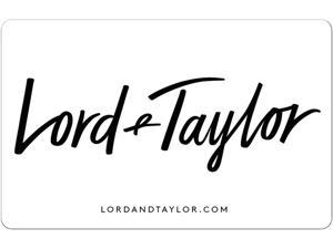 $50 Gift Card Lord Taylor (Email Delivery)