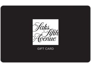Saks Fifth Ave $25 Gift Card (Email Delivery)