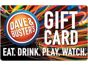 Dave & Buster's $15 Gift Card (Email Delivery)