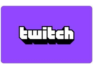 Twitch $25 Gift Card (Email Delivery)