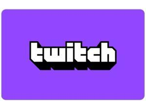 Twitch $50 Gift Card (Email Delivery)