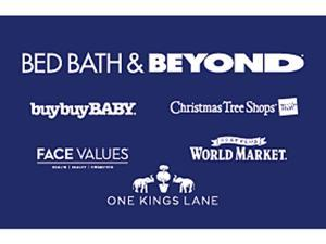 Bed Bath & Beyond $75 Gift Cards ( Email Delivery)
