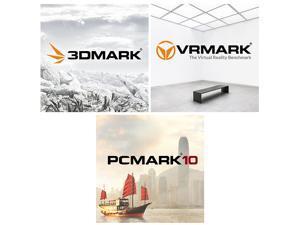 3DMark + PCMark 10 + VRMark Advanced Edition Bundle