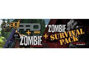 Axis Game Factory's + Zombie FPS + Zombie Survival Pack DLC [Online Game Code]