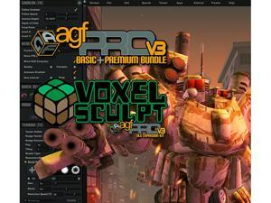 Axis Game Factory's AGFPRO + Voxel Sculpt + PREMIUM Bundle [Online Game Code]