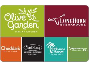 Darden $50.00 Gift Card (Email Delivery)