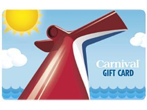 Carnival Cruise $ 150 Gift Card (Email Delivery)