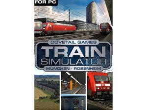 Train Simulator: München - Rosenheim Route Add-On [Online Game Code]