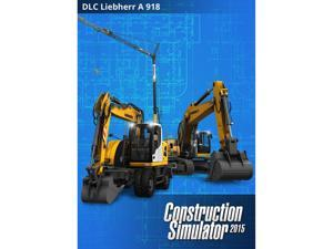 Construction Simulator 2015: Liebherr A 918 [Online Game Code]