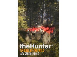 theHunter: Call of the Wild - ATV SABER 4X4 DLC [Online Game Code]