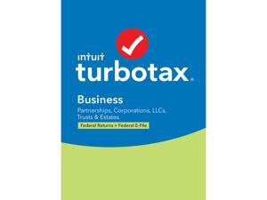 TurboTax Business 2020 Desktop Tax Software, Federal Return Only + Federal E-file [PC Windows Disc]