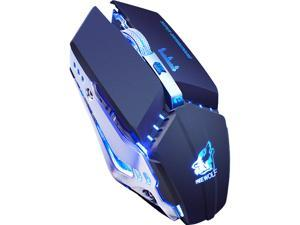 X11 E-sport Wireless Mouse Rechargeable Luminous Mechanical Gaming Mouse
