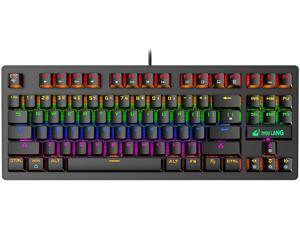 E-sport K2 Punk Mechanical Keyboard 87-key Gaming Competitive Office Notebook Gaming Keyboard